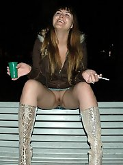 8 pictures - upskirt no panties real picture gallery