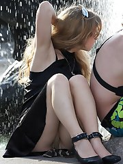 8 pictures - upskirt in public pictures